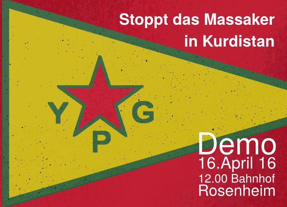 Stoppt das Massaker in Kurdistan